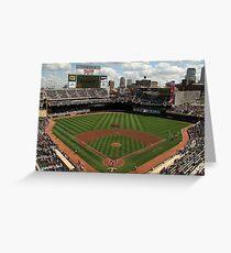 Minnesota Stadium  Greeting Card