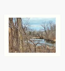 Crooked River Art Print