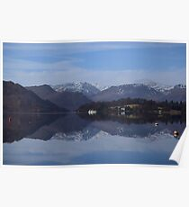 The Lake District: All Calm on Ullswater Poster