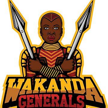 Wakanda Generals by PirateZomby