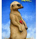 Will Bullas / phone cover / the lookout... / humor / animals by Will Bullas