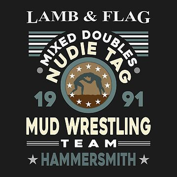 Mixed Doubles Nudie Tag Mud Wrestling Team Design by davidspeed