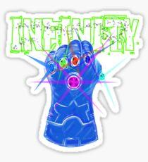 Reverse Infinity Sticker