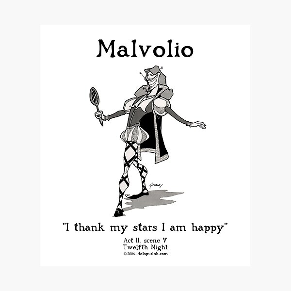 MALVOLIO Photographic Print