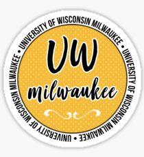 UW - Milwaukee Sticker