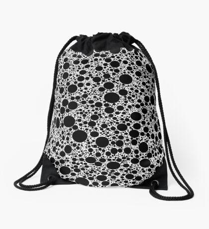 Circle Packing 005 Drawstring Bag