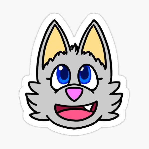 Luna Chibi Face Sticker