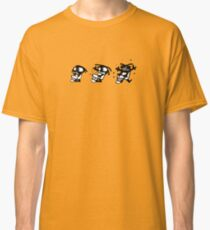 rasta cartoon drum percu djembe music Classic T-Shirt