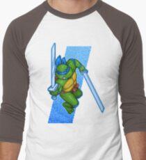 Leonardo Leads Men's Baseball ¾ T-Shirt