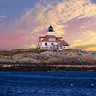 Egg Rock lighthouse by Nancy Richard