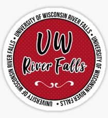 UW - River Falls Sticker