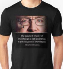 Stephen Hawking quote  Unisex T-Shirt