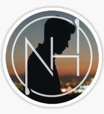 niall silhouette logo Sticker