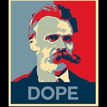 "Friedrich Nietzsche Dope ""Hope Style""  by JacknightW"