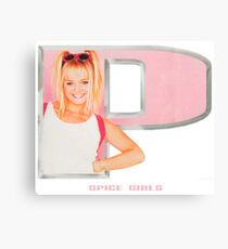 Spice Girls - Emma in letter P Canvas Print