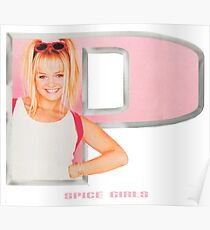 Spice Girls - Emma in letter P Poster