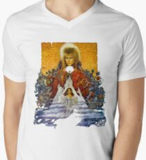 The Realm of the Goblin King V-Neck T-Shirt