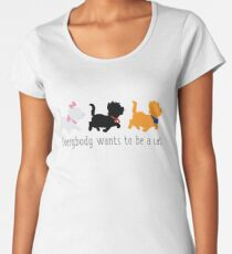 Camiseta premium de cuello ancho Los aristócratas