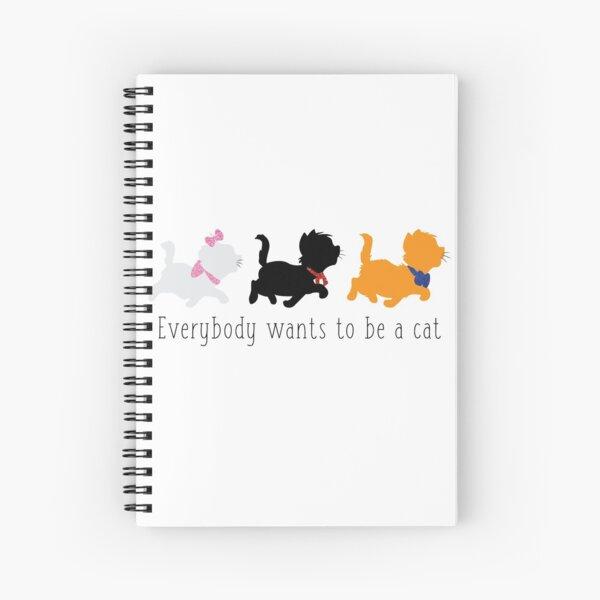 The Aristocats Spiral Notebook