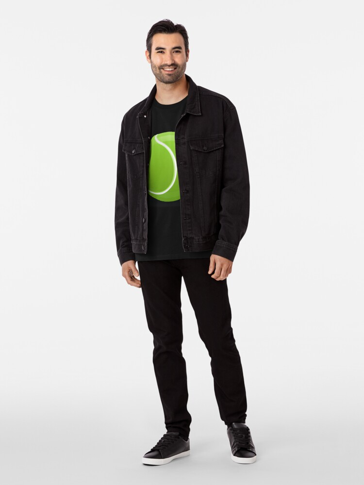 Alternative Ansicht von Tennis Ball Premium T-Shirt