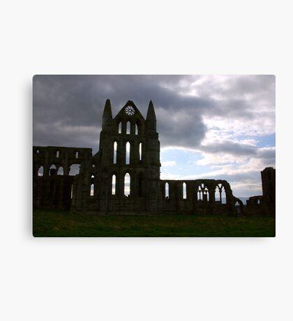Whitby Abbey #1 Canvas Print