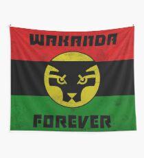 Wakanda Forever Wall Tapestry