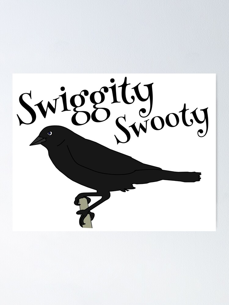 Swiggity Swooty Cutey Poster By Amagicaljourney Redbubble Swiggity swooty (id in desc). swiggity swooty cutey poster by amagicaljourney redbubble