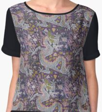 Dragons  Chiffon Top