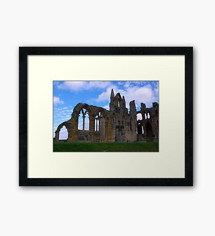 Whitby Abbey #4 Framed Print