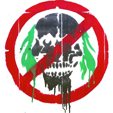 Zombie Stencil by stanleygeorge