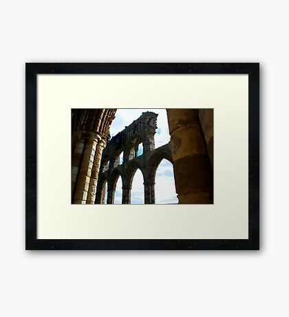 Whitby Abbey #5 Framed Print