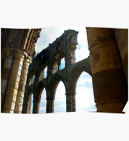 Whitby Abbey #5 Poster
