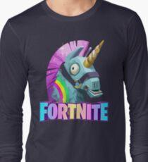 Fortnite Battle Royale Unicorn Long Sleeve T-Shirt