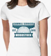 Sawmill 006 Women's Fitted T-Shirt