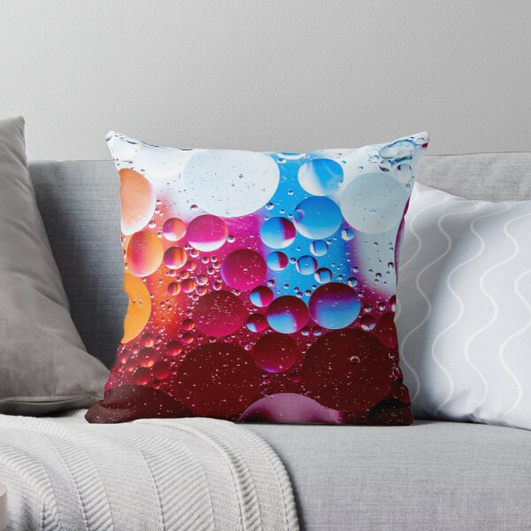 Multiverse Bright Throw Pillow