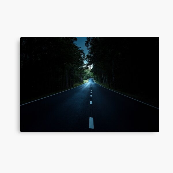 Turn right! Canvas Print
