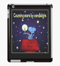 Counting Stars by Candelight  iPad Case/Skin