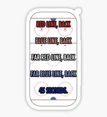 Herb Brooks Zitat Sticker