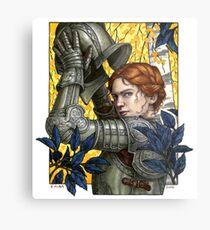 Alanna, the Lioness Metal Print