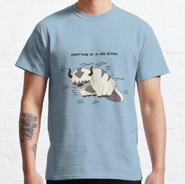 Anatomie eines Sky Bison Classic T-Shirt