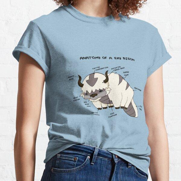 Anatomie d'un bison du ciel T-shirt classique
