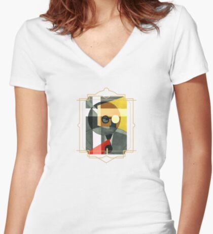 Carnap - Frameworks Women's Fitted V-Neck T-Shirt