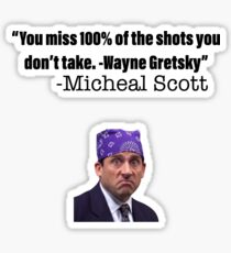 The Office 2 Pack Sticker Quote Sticker