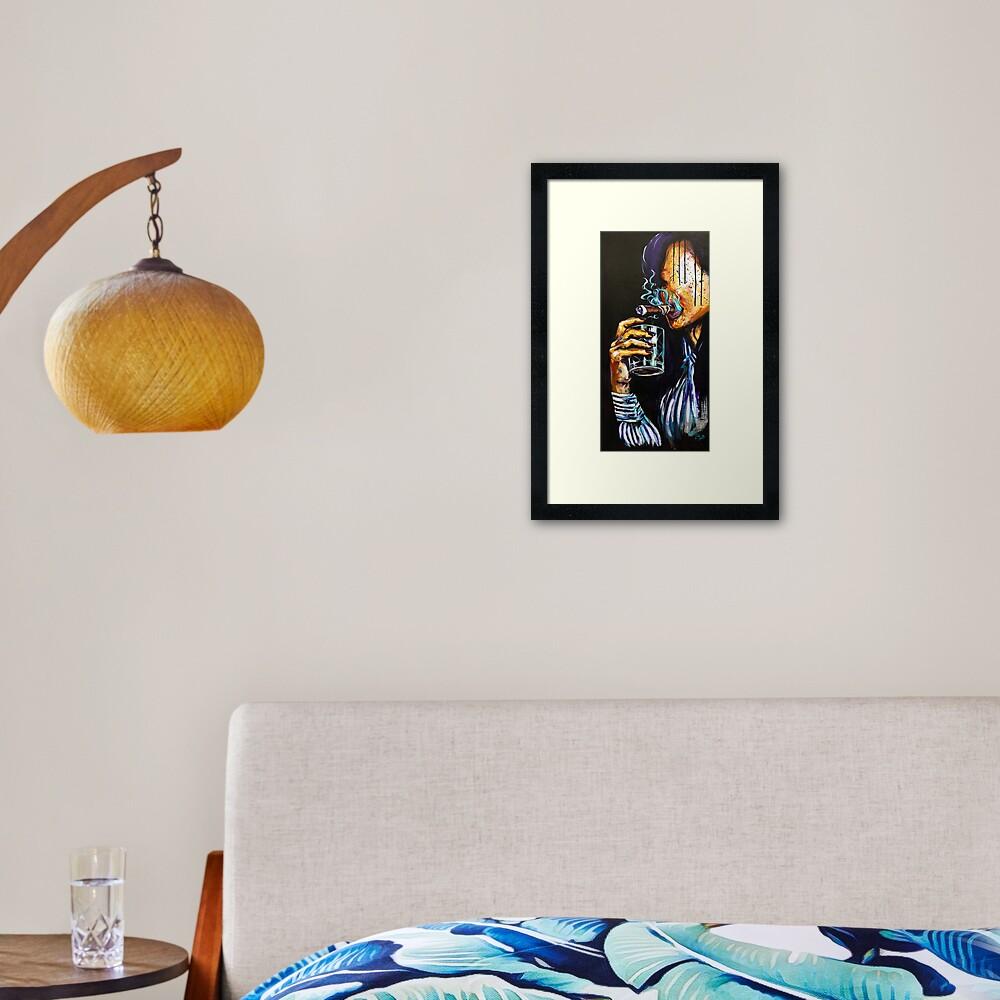 Naturally Bourbon Framed Art Print