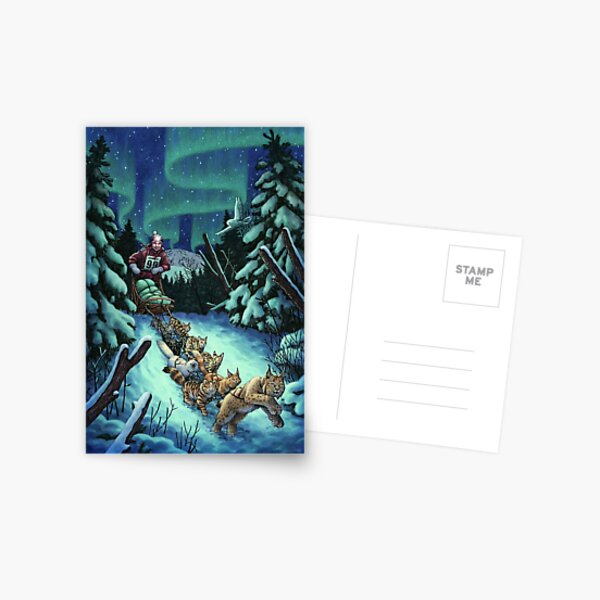 Gilly & the Snowcats Postcard