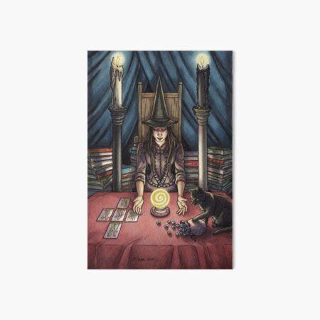 Everyday Witch Tarot - The High Priestess Art Board Print