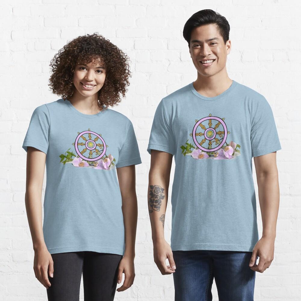 Dharmachakra Wheel of the Dharma Essential T-Shirt