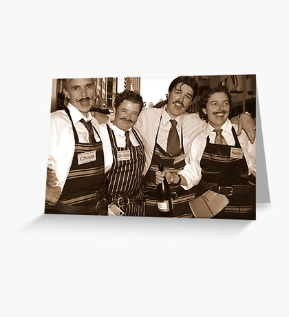 The Butchers of Sydney Greeting Card