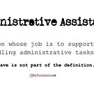 Administrative Assistant—Not Office Slave by smaddingly