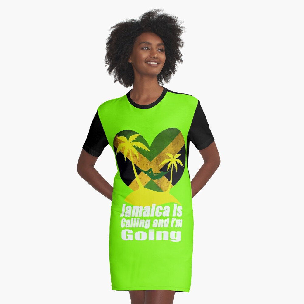 Jamaica  Graphic T-Shirt Dress